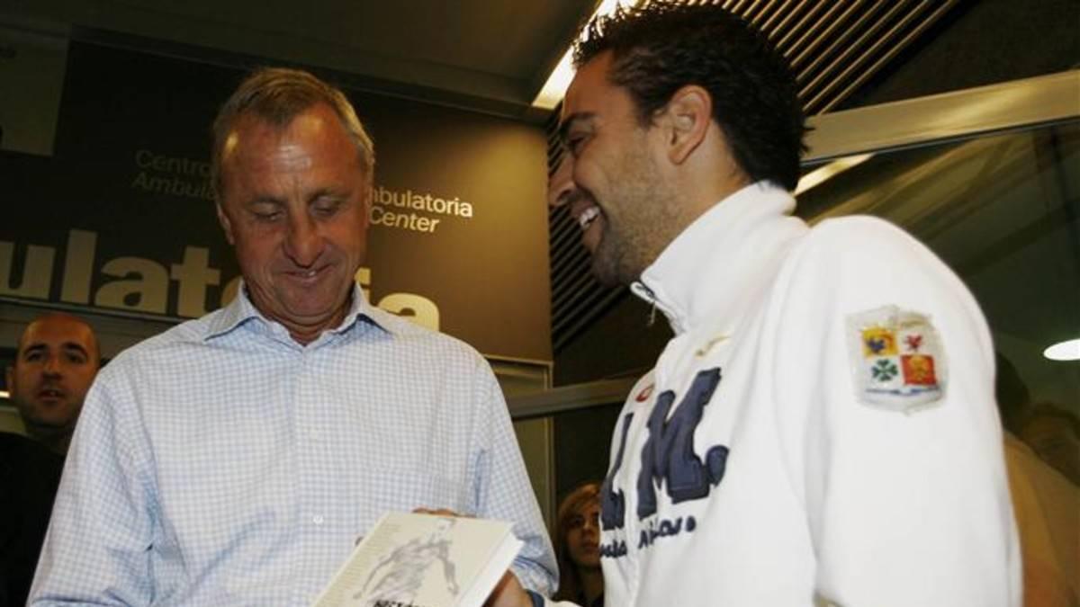 El día que Cruyff le dijo a Xavi que sería entrenador