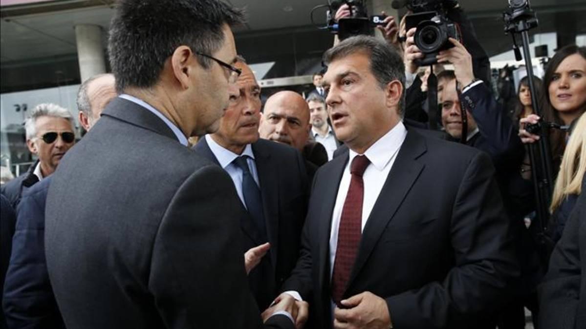 La Fiscalía descarta la acusación de Joan Laporta contra el Barça