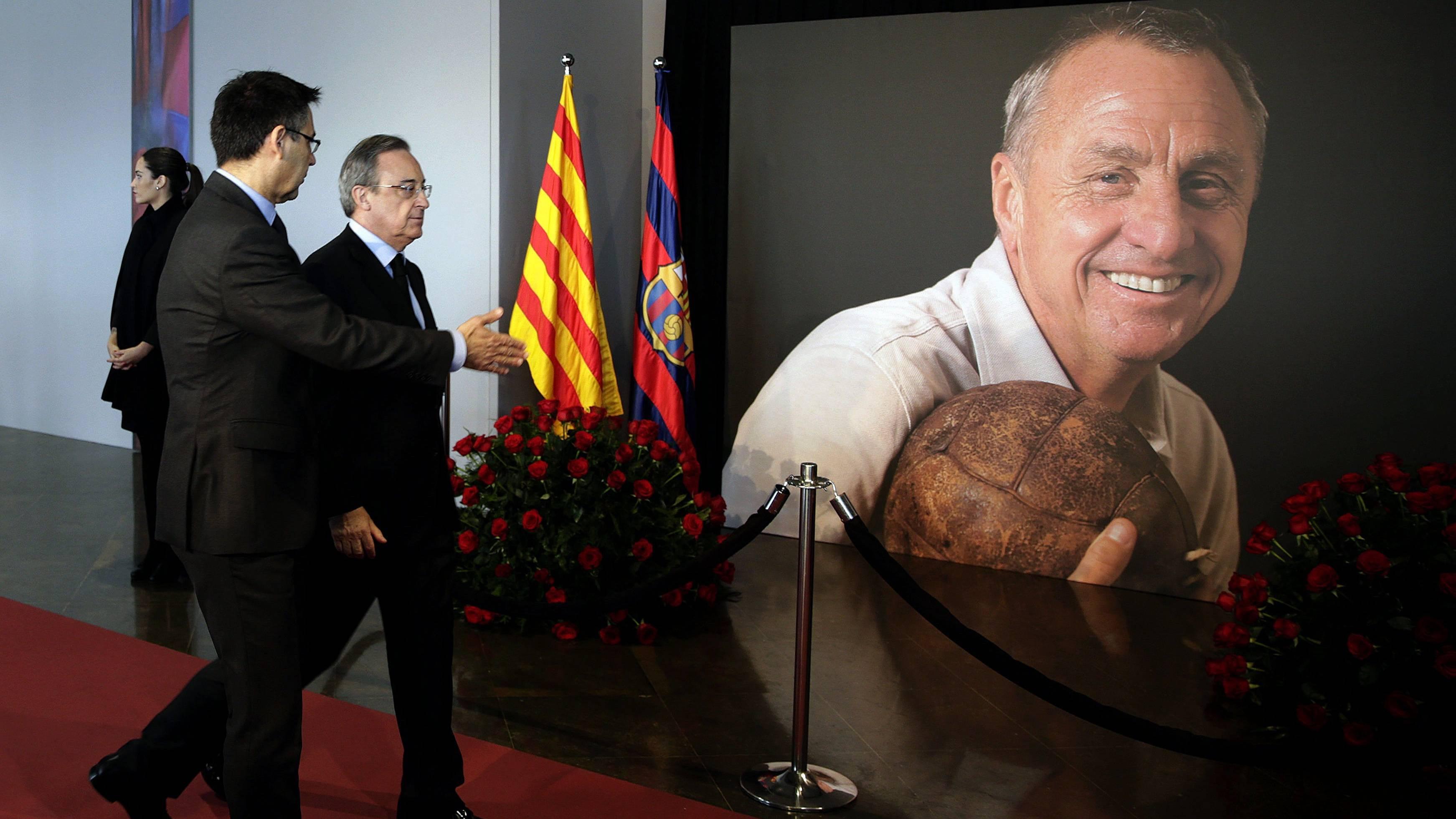 Los 5 homenajes que har� el Bar�a a Cruyff en el Cl�sico